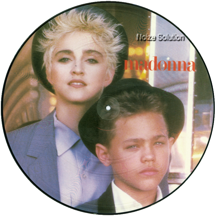 Madonna Open Your Heart 12 inch vinyl Picture Disc Record Side 1 MadonnaMadonna.