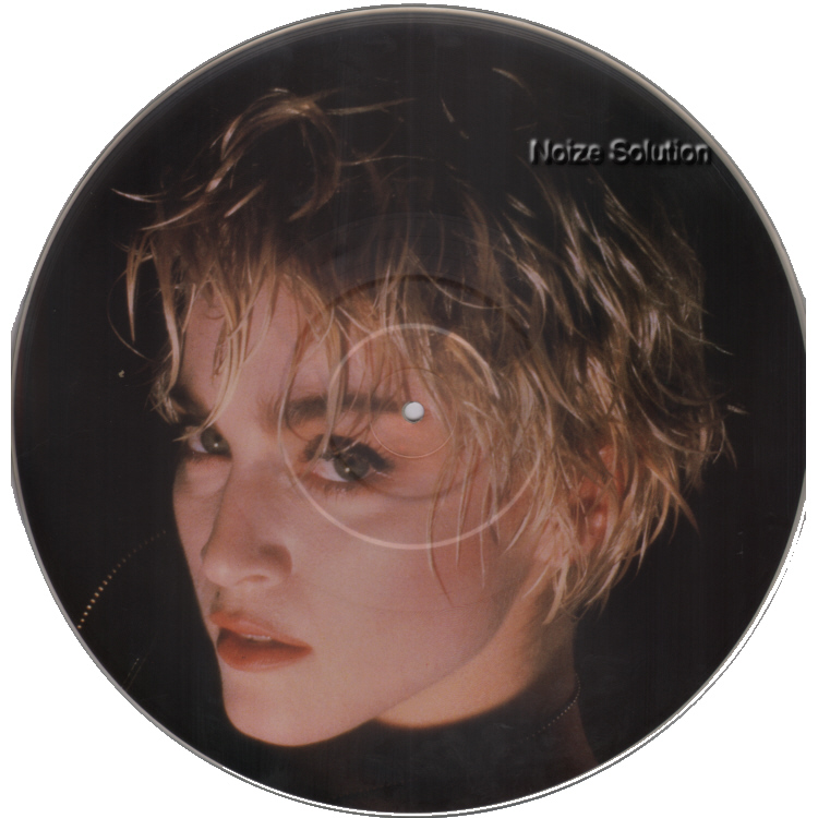 Madonna - Papa Don't Preach vinyl 12 inch Picture Disc Record Side 1 madonnamadonna.