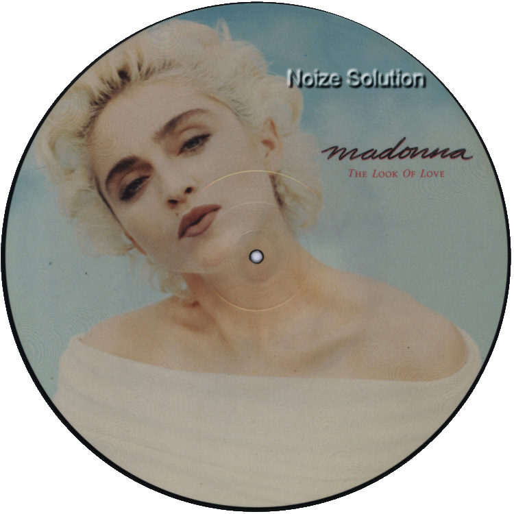 Madonna - The Look Of Love 12 inch vinyl Picture Disc Record Side 1 MadonnaMadonna.