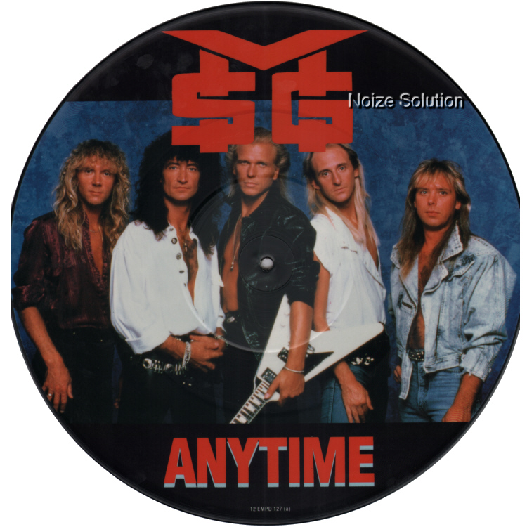 McAuley Schenker Group - Anytime 12 inch vinyl Picture Disc side 1