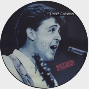 Paul McCartney - Spies Like Us, 12 inch vinyl Picture Disc Record Side 1.