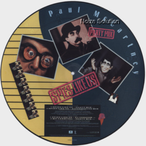 Paul McCartney - Spies Like Us, 12 inch vinyl Picture Disc record Side 2.