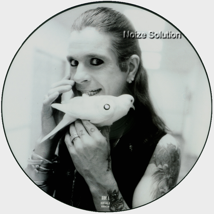 Ozzy Osbourne Changes 12 inch Picture Disc Record Side 1.