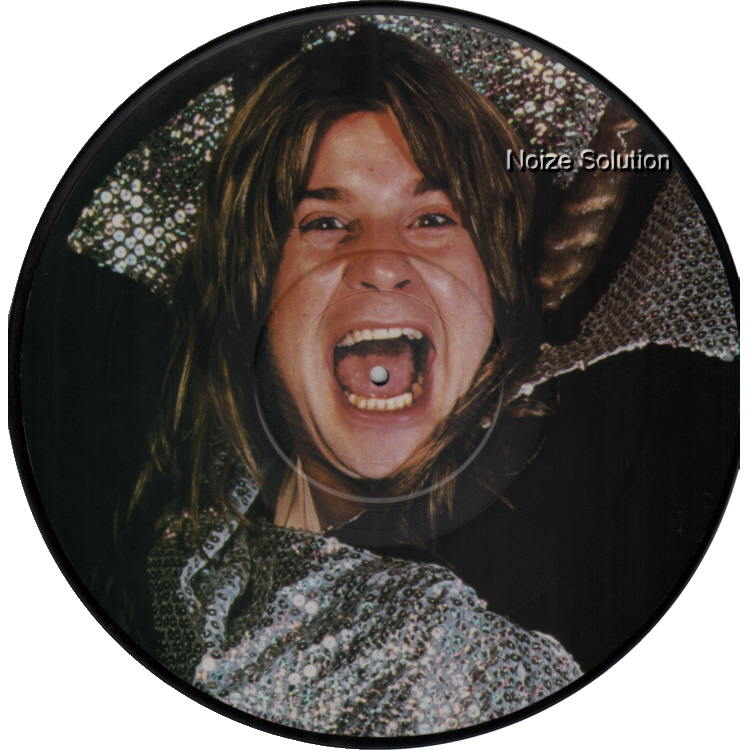 Ozzy Osbourne - Mr Crowley vinyl 12 inch Picture Disc Record Side 2. ozzyosbourne