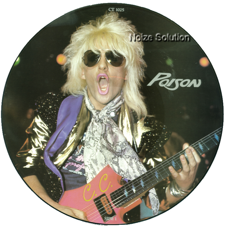 Poison – The Chris Tetley Interviews, 12 inch vinyl Picture Disc record Side 1.