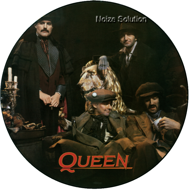 Queen - A Kind Of Magic vinyl 12 inch Picture Disc Record Side 1.