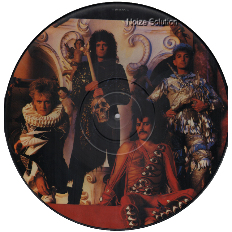 Queen - It's A Hard Life 12 inch vinyl picture disc record side a.