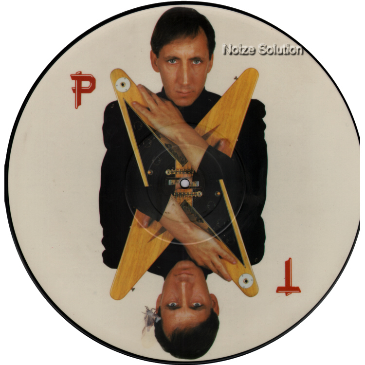 Pete Townshend - Uniforms vinyl 12 inch Picture Disc Record Side 1 PeteTownshend TheWho.