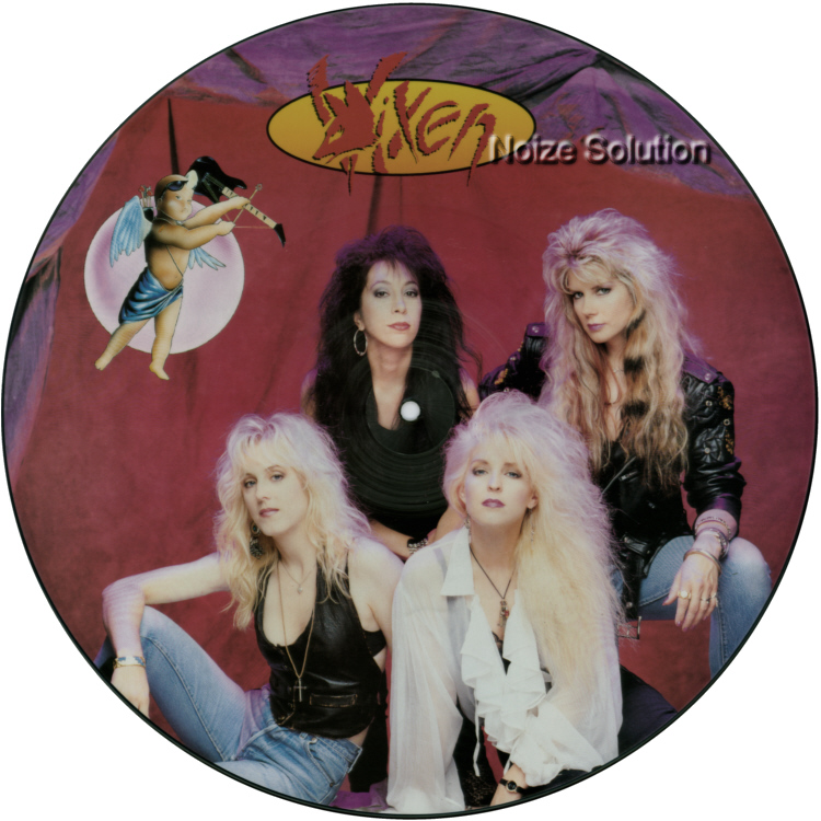 Vixen - Love Is A Killer, 12 inch vinyl Picture Disc record side 1.