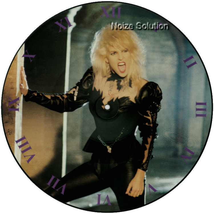 Vixen - Not a Minute Too Soon, 12 inch vinyl Picture Disc record side 1.