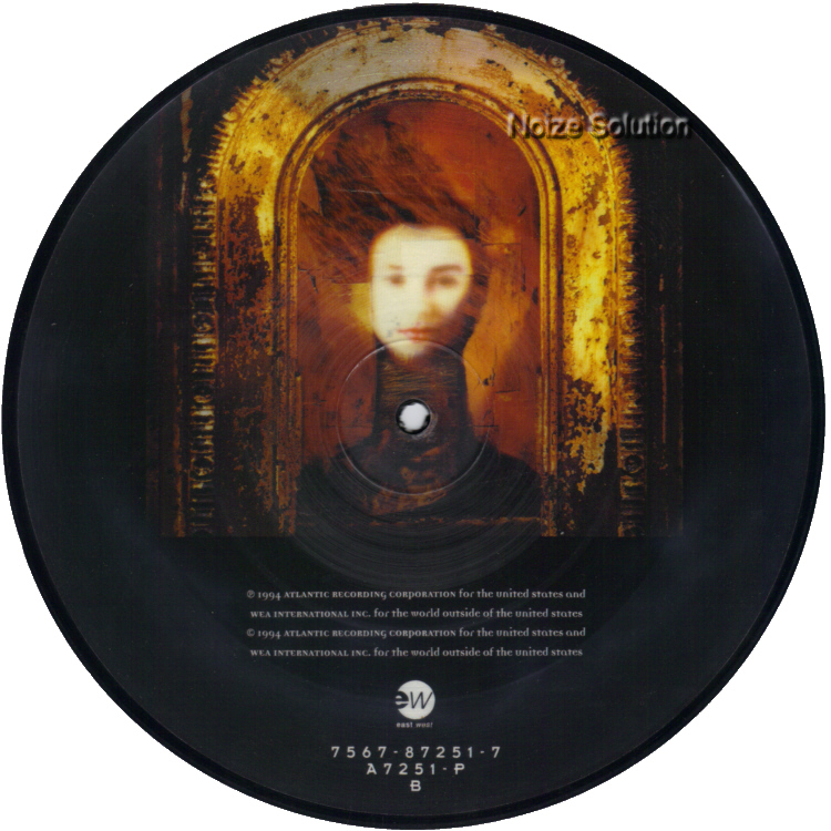 Tori Amos God 7 inch vinyl Picture Disc Record Side 2.