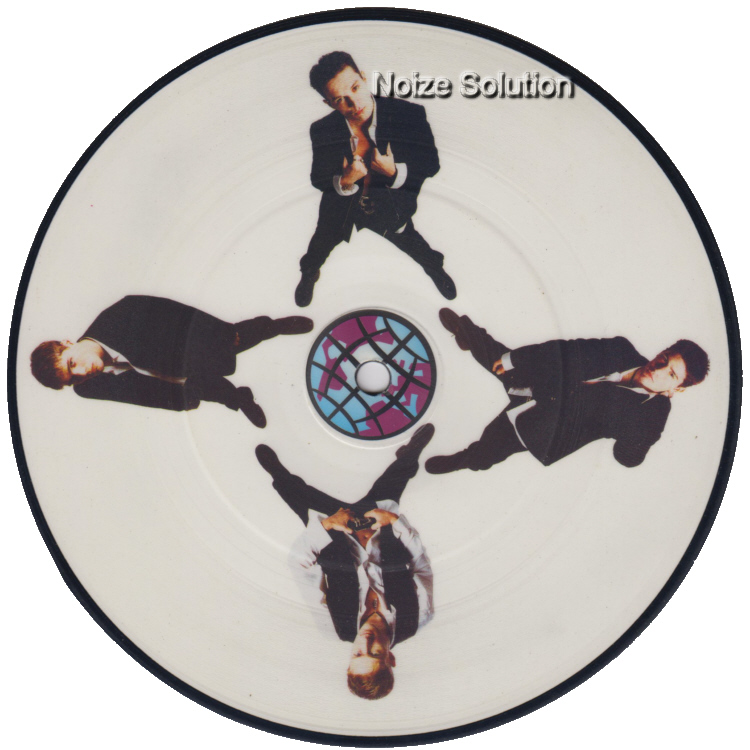bad Boys inc - More To This World 7 inch vinyl Picture Disc Record Side 1 BadBoysinc.