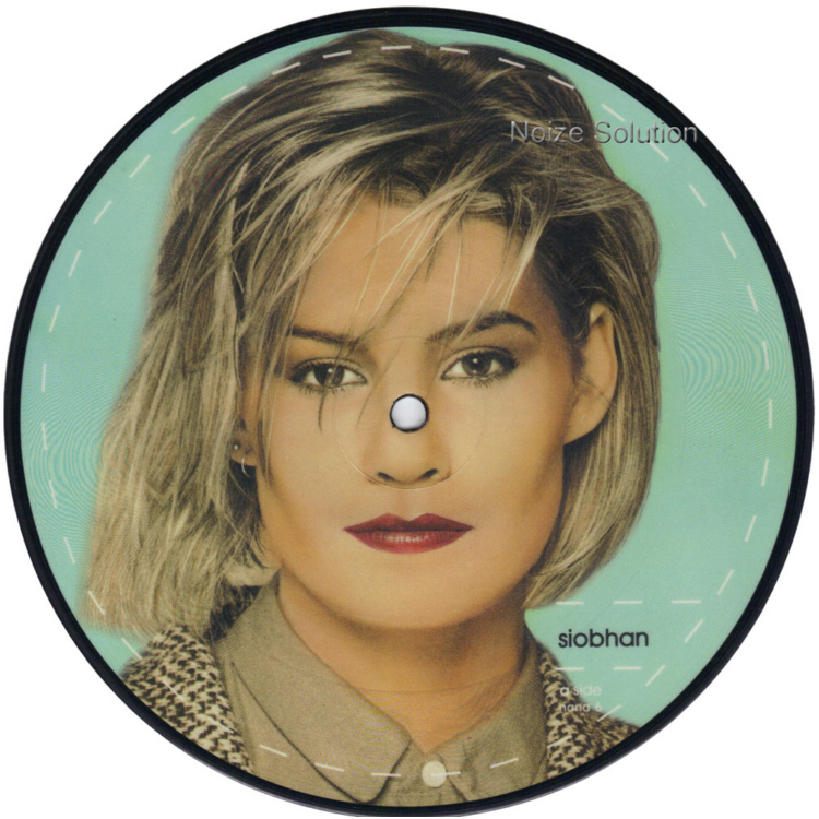 Bananarama - Robert De Niro's Waiting Siobahn 7 inch vinyl Picture Disc Record Side 1.