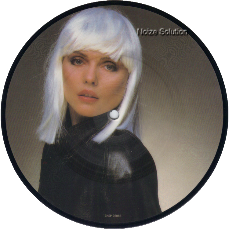 Blondie Island Of Lost Souls Man 7 inch vinyl Picture Disc Record Side 2.