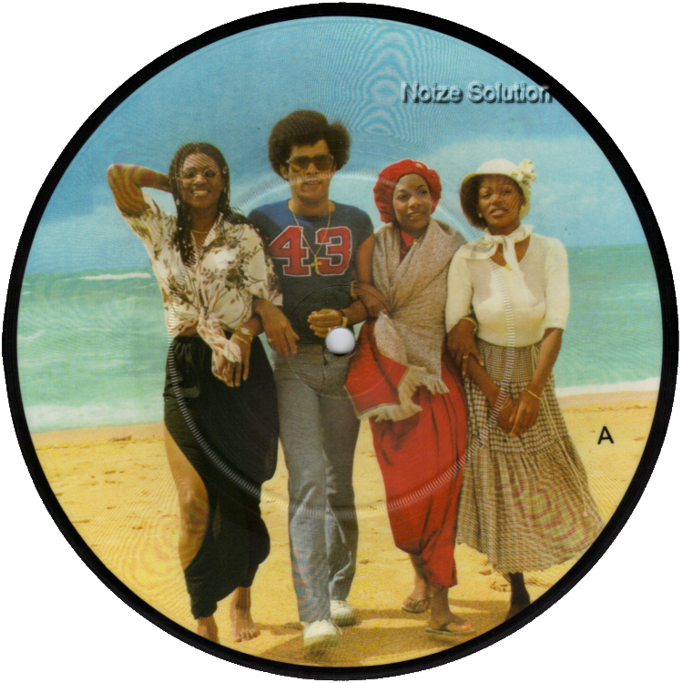 Boney M Hooray Hooray It's A Holi Holiday 7 inch vinyl Picture Disc Record Side 1.