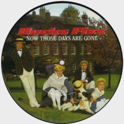 Bucks Fizz - Now Those Days Are Gone - Vinyl Picture Disc Record side 1