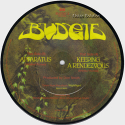 Budgie Bored With Russia 7 inch vinyl Picture Disc Record Side 2.
