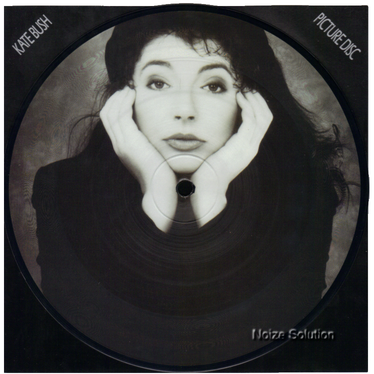 Kate Bush This Woman's Work 7 inch vinyl Picture Disc Record Side 1.