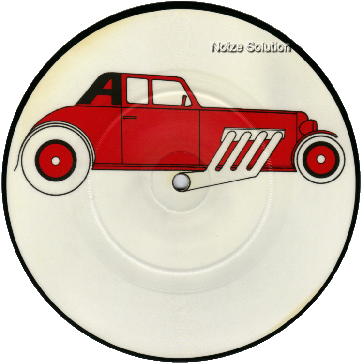 The Cars - My Best Friend's Girl 7 inch vinyl Picture Disc Record side 1.