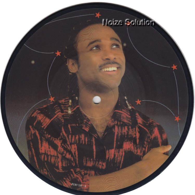 Phil Fearon and Galaxy - Everybody's Laughing 7 inch vinyl Picture Disc Record Side 1 PhilFearon.