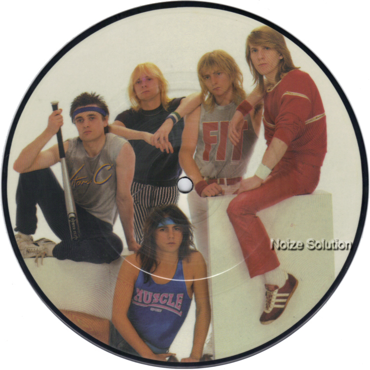 Girl Thru The Twilite 7 inch vinyl Picture Disc Record Side 1.