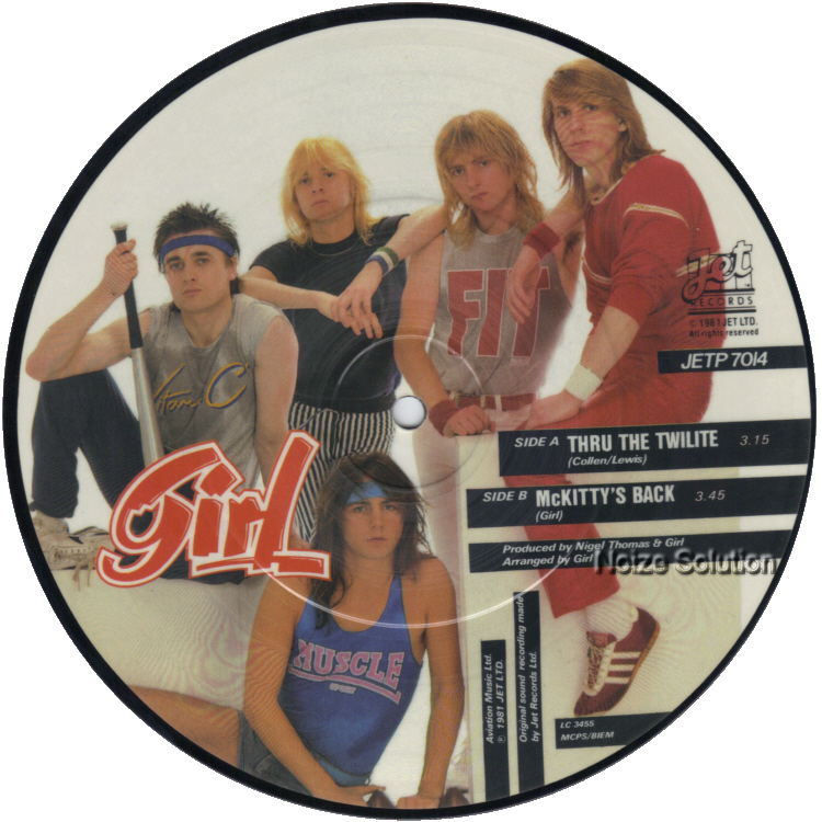 Girl Thru The Twilite 7 inch vinyl Picture Disc Record Side 2.