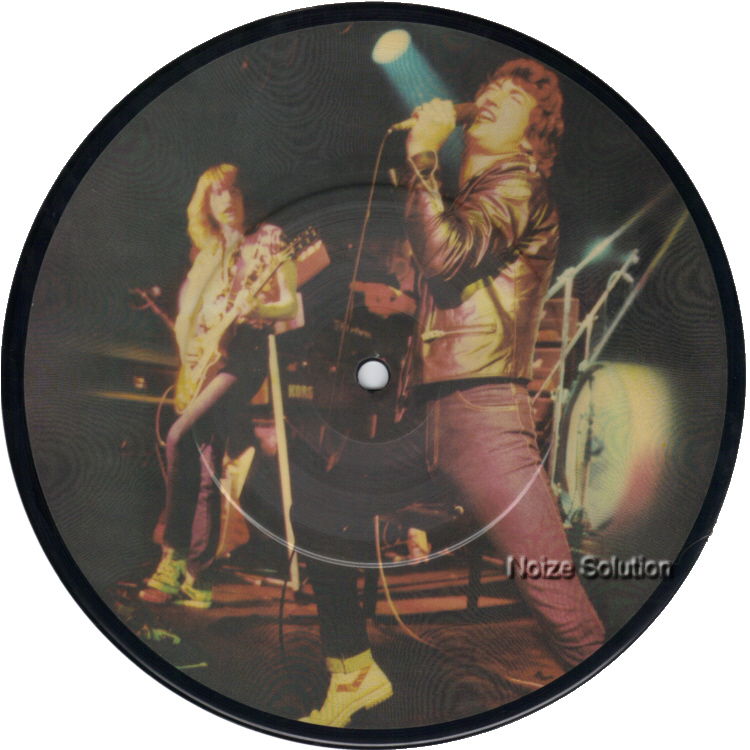 Grand Prix - Keep On Believing 7 inch vinyl Picture Disc record side 1.