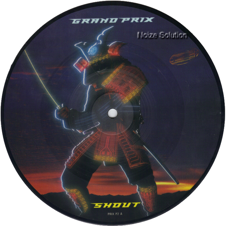 Grand Prix Shout 7 inch vinyl Picture Disc Record Side 1 GrandPrix.