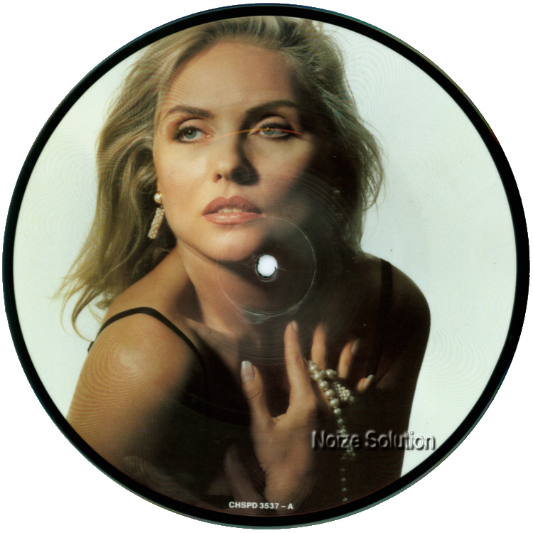 Debbie Harry Maybe For Sure 7 inch vinyl Picture Disc Record Side 1.