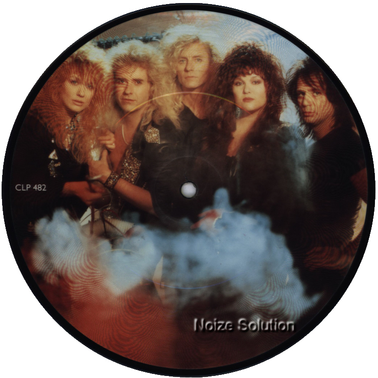 Heart Never 7 inch vinyl Picture Disc Record Side 1.