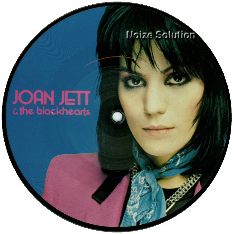 Joan Jett I Love Rock and Roll 7 inch vinyl Picture Disc Record Side 1.