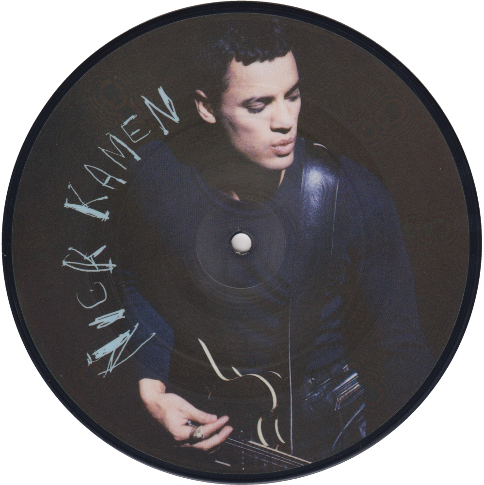 Nick Kamen - I Promised Myself 7 inch vinyl Picture Disc Record Side 1 NickKamen.
