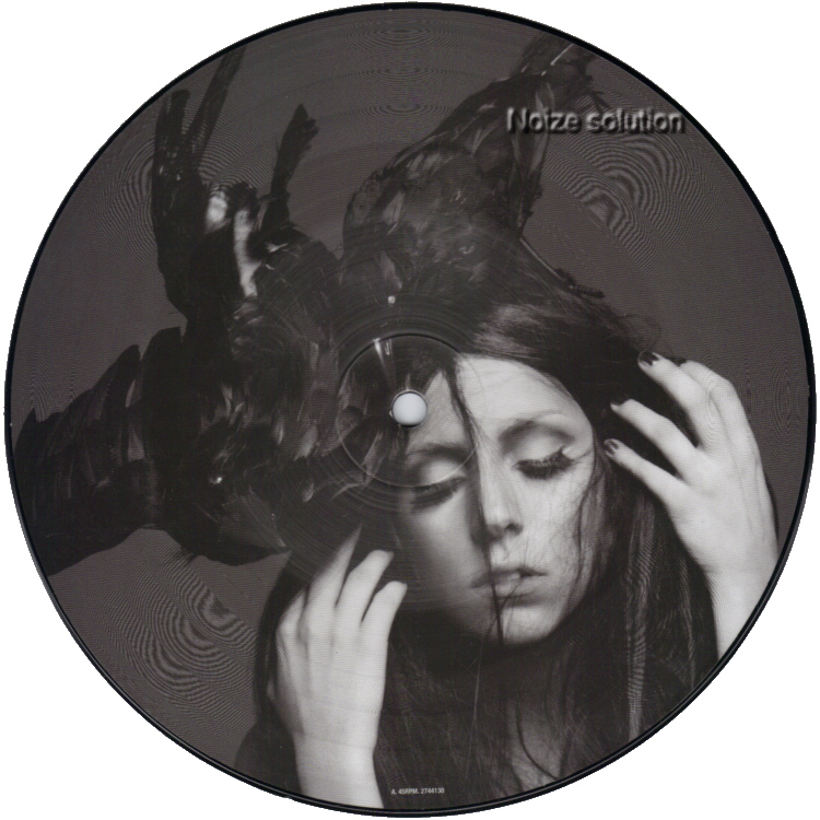 Lady Gaga - Alejandro 7 inch vinyl Picture Disc Record Side 1 LadyGaga.