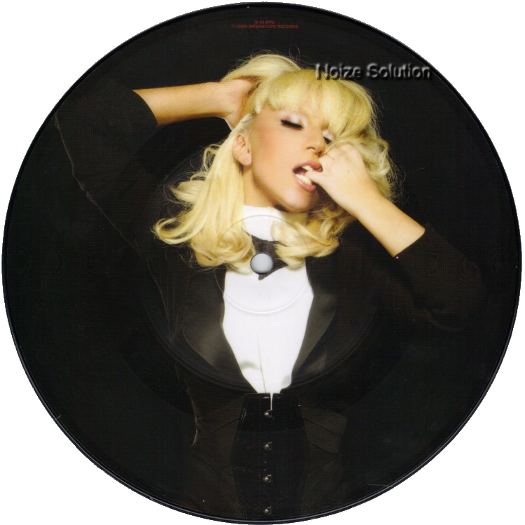 Lady Gaga - Bad Romance 7 inch vinyl Picture Disc Record Side 2.
