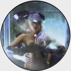 Lady Gaga - Lovegame 7 inch vinyl Picture Disc Record Side 1.