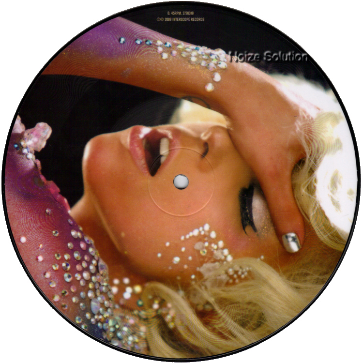 Lady Gaga - Lovegame 7 inch vinyl Picture Disc Record Side 2.