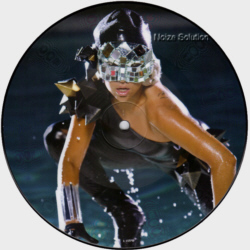 Lady Gaga - Poker Face 7 inch vinyl Picture Disc Record Side 1.