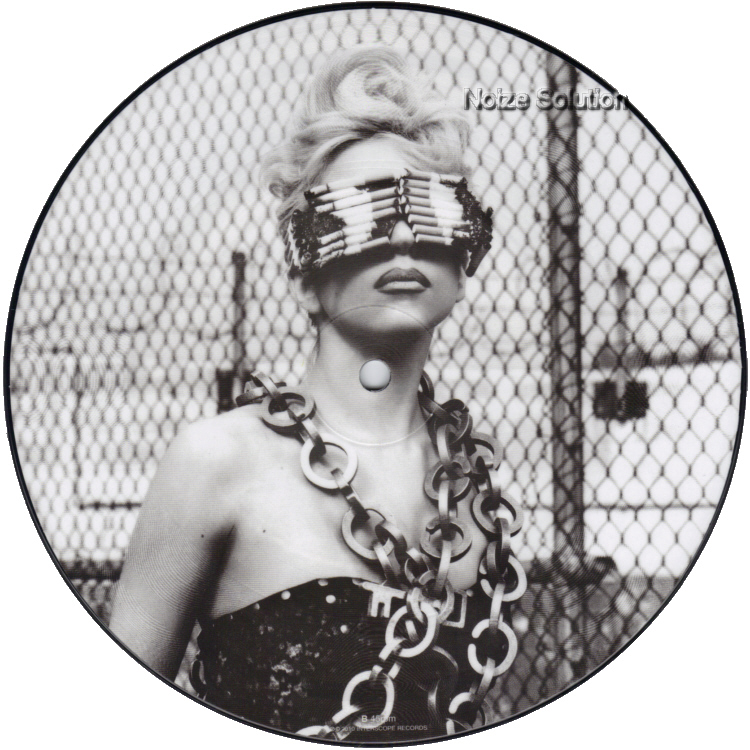 Lady Gaga (Beyonce) - Telephone 7 inch vinyl Picture Disc Record Side 2.