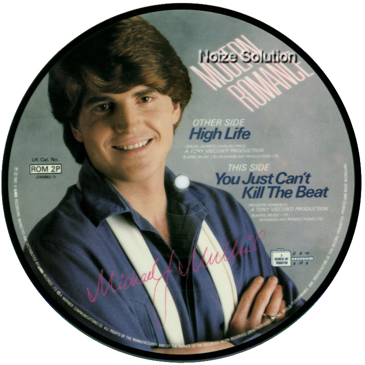 Modern Romance High Life 7 inch vinyl Picture Disc Record Side 2.