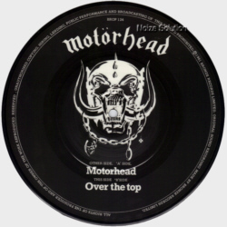 Motorhead 7 inch vinyl Picture Disc Record Side 2.