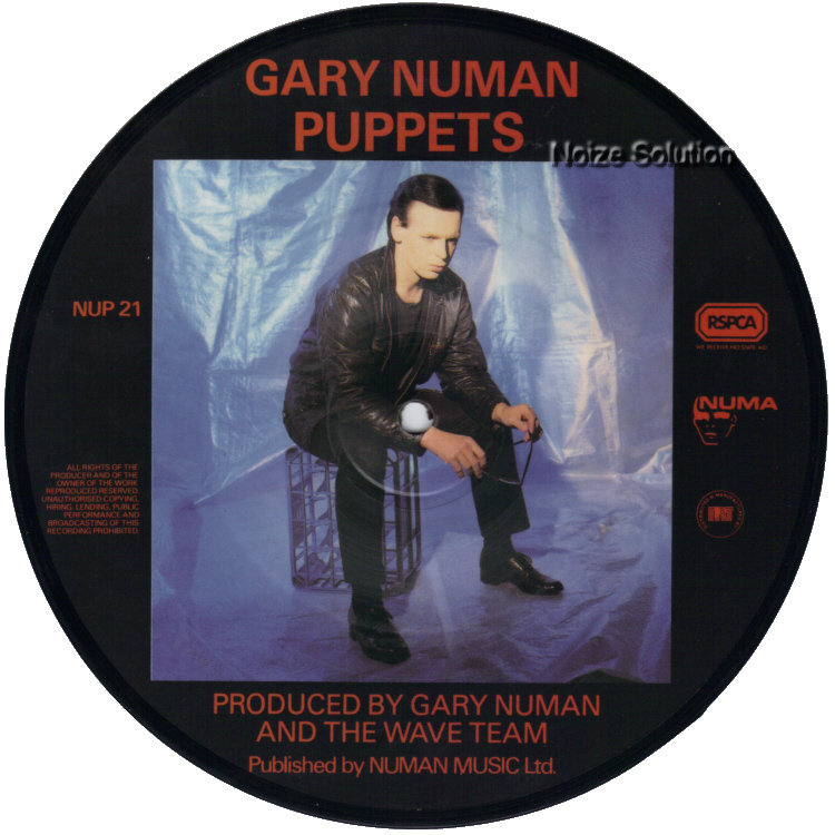 Gary Numan I Still Remember 7 inch vinyl Picture Disc Record Side 2 garynuman.