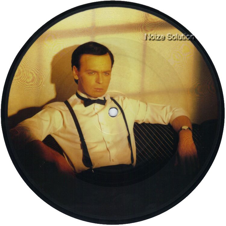 Gary Numan This Is Love 7 inch vinyl Picture Disc Record Side 1 garynuman.