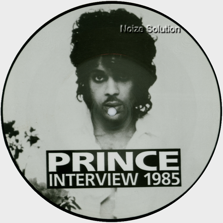 Prince - Interview 1985 7 inch Vinyl Picture Disc Record Side 1.