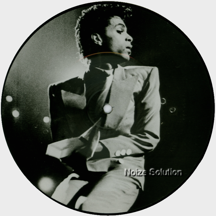Prince - Interview 1985 7 inch Vinyl Picture Disc Record Side 2.