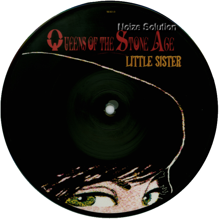 Queens of the Stone Age Little Sister, 7 inch vinyl Picture Disc record side a.