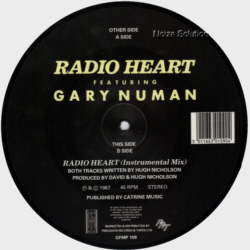 Gary Numan  - Radio Heart  7 inch vinyl Picture Disc Record Side 2.