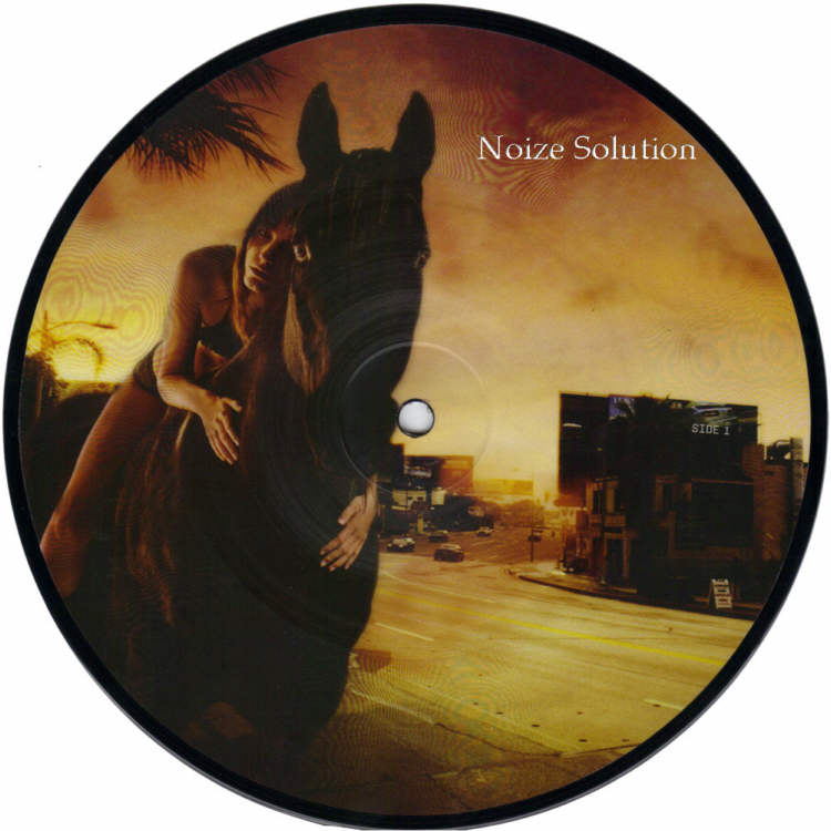 Red Hot Chili Peppers - Dani California 7 inch vinyl Picture Disc Record Side 1.