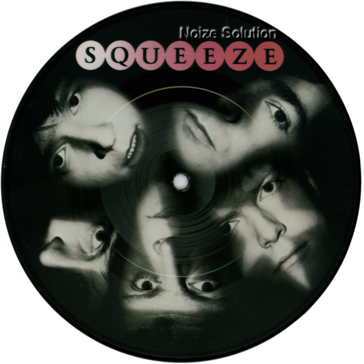 Squeeze When The Hangover Strikes 7 inch vinyl Picture Disc record Side 1