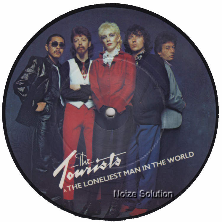 The Tourists - The Loneliest Man In The World 7 inch vinyl Picture Disc Record Side 1 TheTourists.