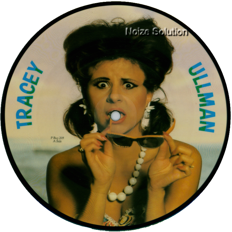 Tracey Ullman - Sunglasses - Vinyl Picture Disc Record side 1